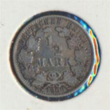 alemán Imperio añosägernr: 16 1909 años muy ya Plata 1909 1/2 marcos gra(7849228