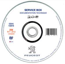 Peugeot 208 (2012-2019)  manuale officina riparazione su cd