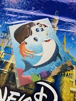 "2021 Disney Parks Dory Finding Nemo Unforgettable 5x7"" Postcard Chanani"