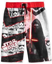 Disney Star Wars Little Boys Kids Kylo Ren Swim Trunk Shorts size 4 New Auth