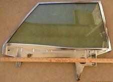 1967 Ford Galaxie Mercury Monterey HT R rear door window glass channel 67 tinted