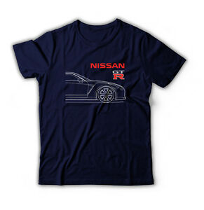 Neu Herren DTG Gedruckt Nissan GTR Racing Printed T-shirt, Gr. S,M,L,XL,XXL,XXXL