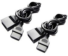 2 x Extension Cable for SNK Neo Geo AES MVS Controller Joystick Gamepad Lead UK