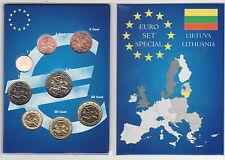 LITHUANIA  série EURO OFFICIELLE disponible immédiatement