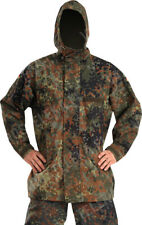 Genuine German Army Issue Flecktarn Camo Gore-Tex Waterproof Parka Jacket Size