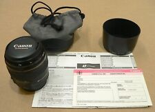 Used Canon EF 85mm f/1.8 USM Lens for Canon SLR Cameras