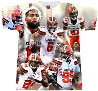 Odell Beckham Jr. Shirt. Baker Mayfield T-Shirt. Dawgs Gotta Eat Tee. Browns Shi