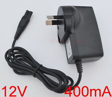 12V AU Braun Shaver Charger Power Lead Cord For Series 3 310, 320, 330, 340, 350