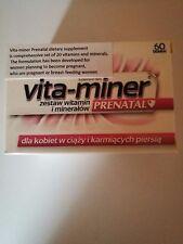 Vita-miner Prenatal 60 tabletek 20 vitamins and minerals dla kobiet w ciąży