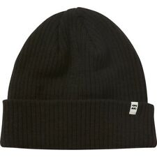 BILLABONG MENS HAT.NEW ARCADE BLACK KNITTED TURN FOLD UP BEANIE/SKULLIE 7W 2 19