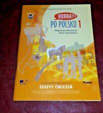 Hurra Po Polsku 1 Zeszyt Cwiczen