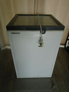 Norfrost Commercial Glass-top-opening chest freezer