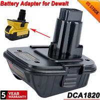 New for DEWALT DCA1820 20V MAX Battery Adapter For DEWALT 18V DC9096 Power Tools