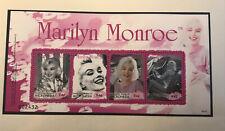 Marilyn Monroe Postage Stamp Arch Mint Unused Micronesia Nr.B33