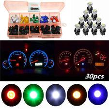 30pcs T5 1SMD 5050 Led Car Motorcycle Instrument Panel Cluster Gauge Dash Lights