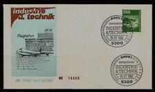 """BRD FDC MN 1137 (1S) """"Industrie und Technik (III)"""" -Flughafen Frankfurt am Main-"""