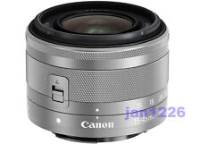 New Canon EF-M 15-45mm F3.5-6.3 IS STM Lens for EOS M M2 M3 without BOX silver