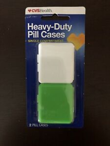 CVS Heavy-Duty Single Compartment Pill Cases - New!