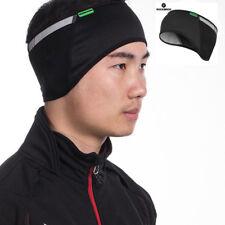 RockBros Winter Reflective Earmuff Cycling Sports Fleece Ear Warmer Cap Black