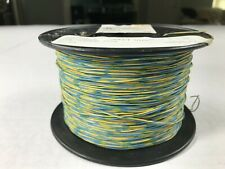 Cross Connect Telephone Wire Cable J 2C 24 AWG 1 Pair Blue/Yellow - 900 FT