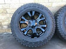 "4x NEW GENUINE FORD RANGER WILDTRAK 2019 18"" ALLOYS & FALKEN AT TYRES BT50"