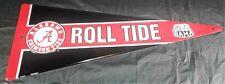 Alabama Football Metal Sign Crimson Tide Embossed Pennant Wall Plaque