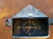 Ford Dashboard Clock General Electric Co Motochron Model D612 12 Volt