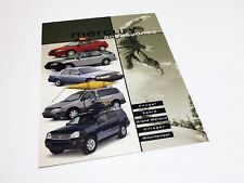 2001 Mercury Cougar Grand Marquis Sable Mountaineer Accessories Brochure