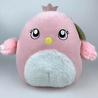 """Squishmallows 12"""" Suneetha The Pink Swan  Easter Kellytoy Fluffy Belly Rare"""