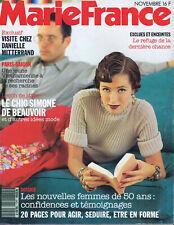 ▬►MARIE FRANCE 441-1992 LYN et JOHN_VANESSA PARADIS_WOLINSKI_MODE FASHION