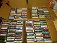 100 CD Lot Music Random Genre All Type of Artists Bands ALL With Cases & Artwork