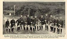 Generallt.v.Eimen als Kommandeur Kürassier-Rgt. Nr. 4 Historische Aufnahme 1904