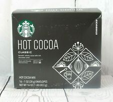 Starbucks Hot Cocoa Classic 16 - 1 OZ Envelopes New