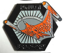"Star Trek Romulan Bird Prey MicroFleet DELUXE 2+"" Cloisonne Pin (STSH012)"