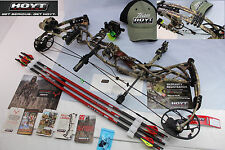 "2016 Hoyt DEFIANT 50-60#/28""-30""DL #3CAM Righ Hand RealTree XTRA FULL PACKAG Bow"