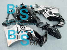 Black Glossy ABS Fairing With Tank Cover Kit Fit HONDA CBR600F2 1991-1994 01 A5