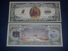 LORD JESUS UNCIRCULATED   NOVELTY NOTE!