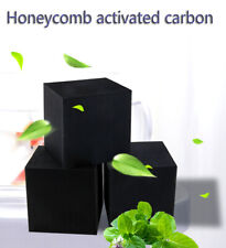 3PCS activated carbon cube aquarium clean filter bacteria house landscape