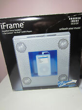 Sharper Image SI328 iFrame ZipConnect Speaker System  New in Box # 1384 uu