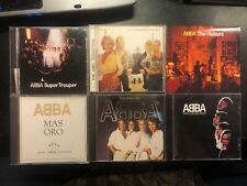 ABBA Lot of 6 CDs Super Trouper Mas Oro On Visitors Collection Remasters