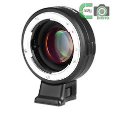 for Nikon F Lens to Sony NEX7 6 A6300 Focal Reducer Speed Booster Adapter NF-E