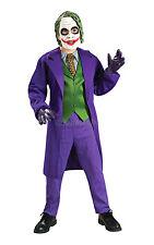 Boys The Joker Deluxe Batman Dark Knight Rises Kids Child Fancy Dress Costume 8 - 10 Years 883106