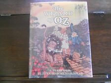 WIZARD OF OZ, Frank L. Baum/Michael Hague, SIGNED w/DRAWING 1st/1st 1982 HCDJ