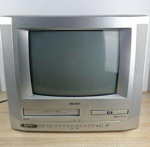 """Bush BTV183DVD/C Combi VHS DVD TV 14"""" CRT VCR Video Retro Gaming Vintage VGC"""