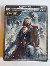 THOR: THE DARK WORLD (4K UHD + Blu-Ray + Digital Copy) Marvel Limited Edition
