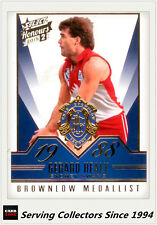 2015 Select AFL Honours S2 Brownlow Gallery Card BG86 Gerald Healy (Sydney)