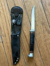 VINTAGE KA-BAR  HUNTING KNIFE KABAR's RARE fixed blade Small Blade 3.5 Inch