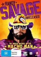 The WWE - Randy Savage Unreleased - Unseen Matches Of The Macho Man (DVD, 2018, 3-Disc Set)