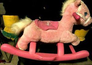 Disney Princess My Rocking Pony/Horse~Pink & White~Sounds/Music