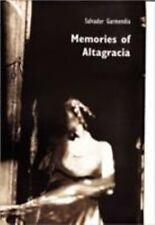 MEMORIES OF ALTAGRACIA - NEW HARDCOVER BOOK